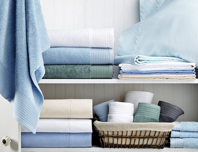 Dreamy Blues: Bath Towels & Accessories at MYHABIT
