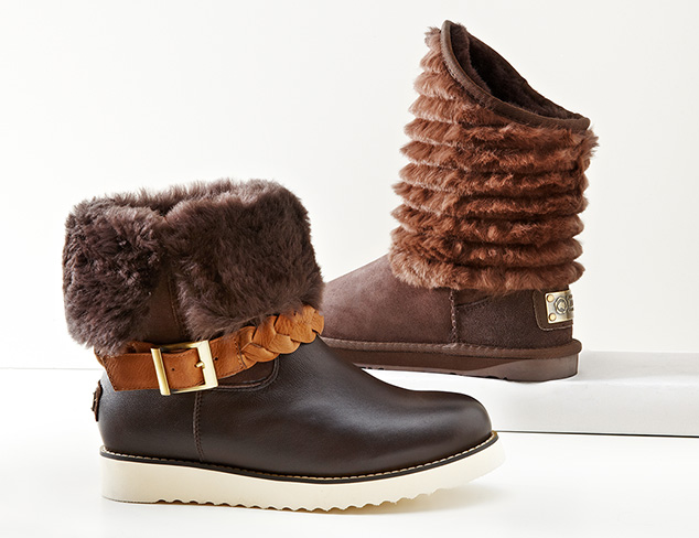 Great Gifts: Shearling Boots at MYHABIT