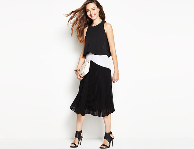 In Black & White: Dresses & Separates at MYHABIT