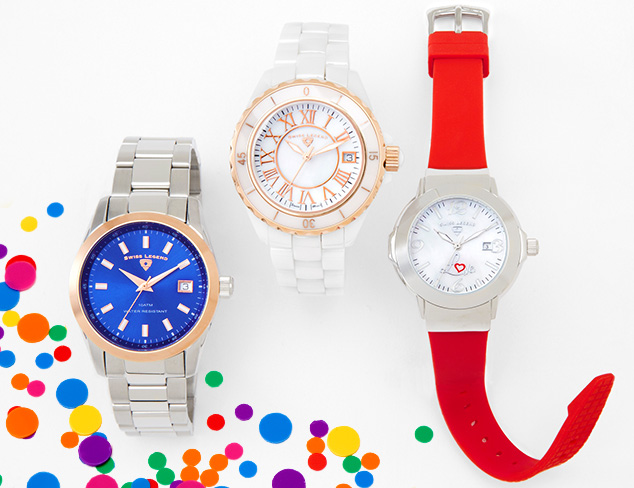 Ladylike Watches feat. Swiss Legend at MYHABIT