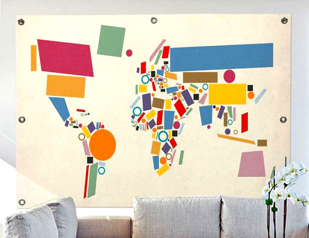 Map Murals at MYHABIT
