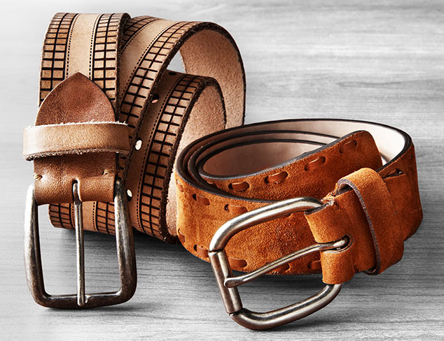 New Year's Eve Ready: Belts feat. Bolliver at MYHABIT