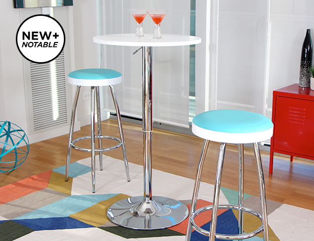 Party Seating: Bar Stools feat. LumiSource at MYHABIT