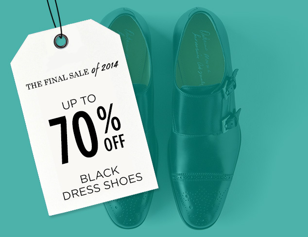 Up to 70% Off: Black Dress Shoes at MYHABIT