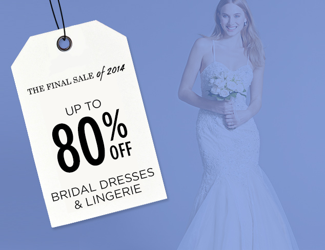 Up to 80% Off: Bridal Dresses & Lingerie at MYHABIT