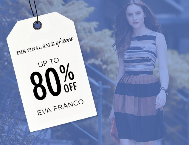 Up to 80% Off: Eva Franco at MYHABIT