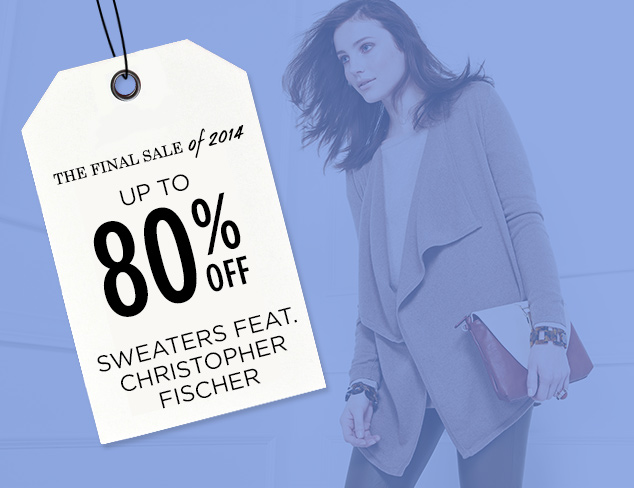 Up to 80% Off: Sweaters feat. Christopher Fischer at MYHABIT