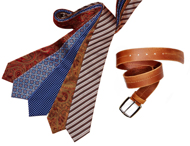 Well Suited: Ties & Belts at MYHABIT