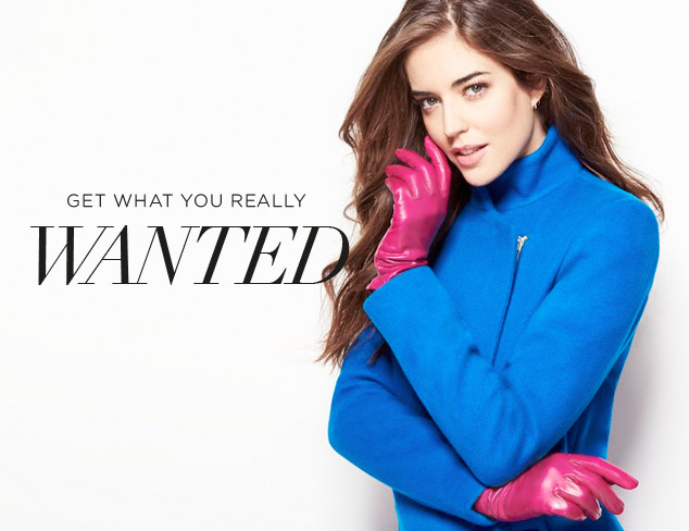 What You Really Wanted: Luxe Outerwear at MYHABIT