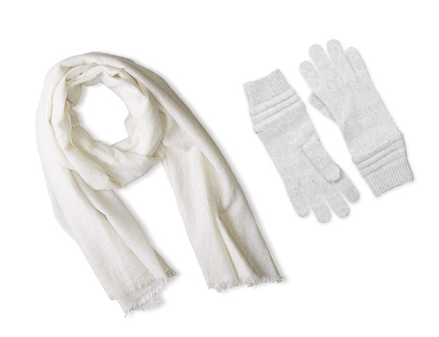 Winter White & Neutral Accessories at MYHABIT