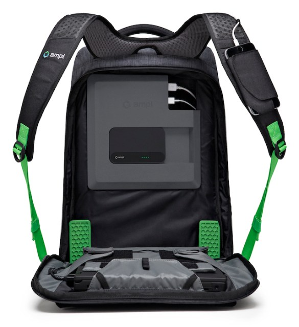 AMPL SmartBag Laptop Backpack with Built-in Battery_5