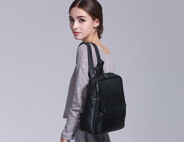 Cannci Pebbled Backpack
