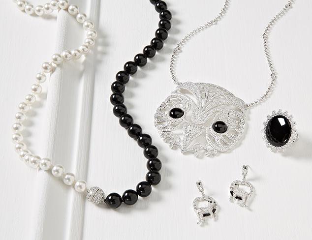 Black & White: Jewelry at MYHABIT
