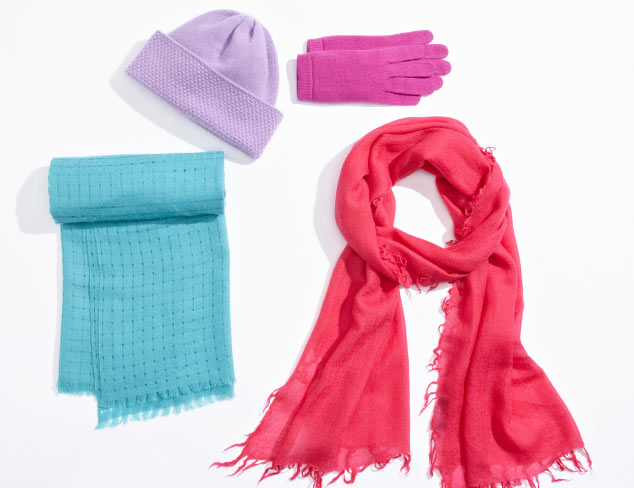 Cashmere Accessories: Gloves, Scarves & More at MYHABIT