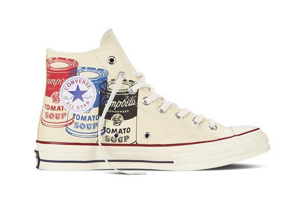 Converse Chuck Taylor All Star 70 Andy Warhol Campbells Soup hi