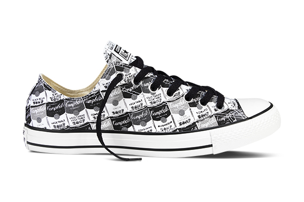 Converse Chuck Taylor All Star Andy Warhol Black and White
