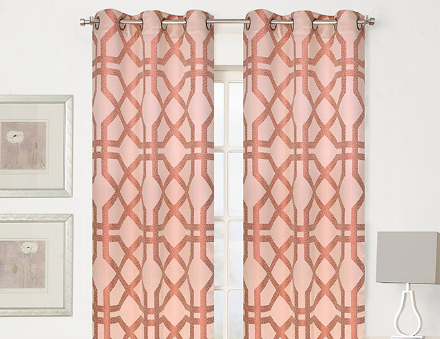 Curtain Panels feat. Beatrice Home Fashions at MYHABIT