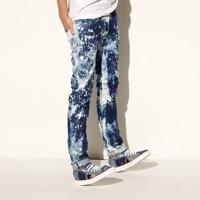 DSQUARED Slim-Fit Splatter Paint Jeans