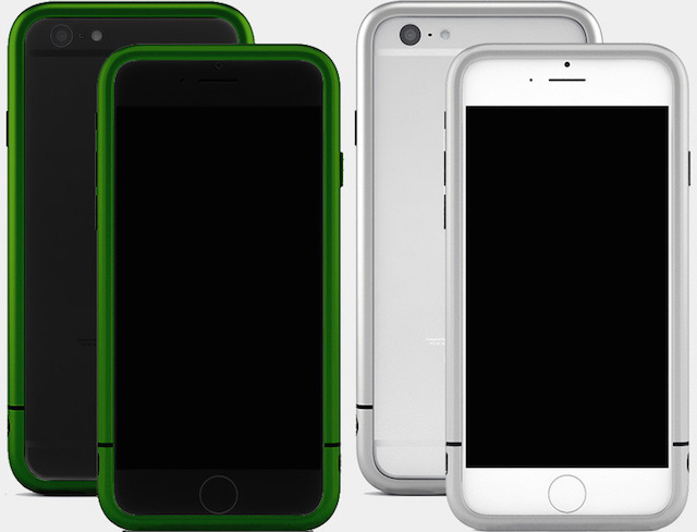 Design by many AL13 v3 AeroSpace Aluminum Bumper for iPhone 6 & 6 Plus_8
