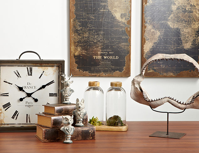 Explorers Club: Travel Décor at MYHABIT