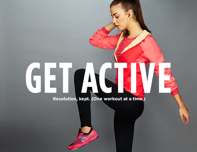 Get Active: New Balance & Anue by New Balance at MYHABIT
