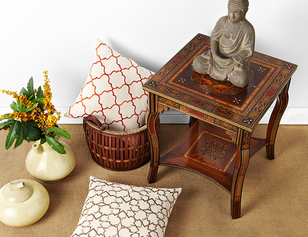 Global Eclectic: Accent Pieces at MYHABIT