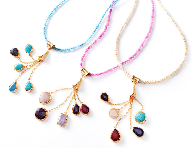 Jewelry Trend: Layers & Tassels at MYHABIT