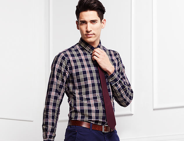 Modern Shirting Selections at MYHABIT