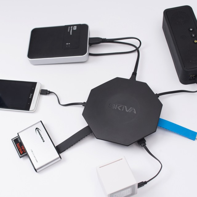 Skiva Powerflow OctoFire 8-Port USB Charger