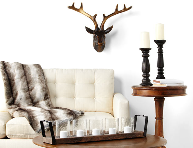 Ski Lodge Style: Accents & Décor at MYHABIT