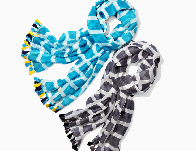 Thinking of Spring: Lightweight Scarves at MYHABIT