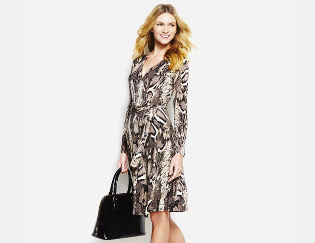 Universally Flattering: Wrap Dresses at MYHABIT