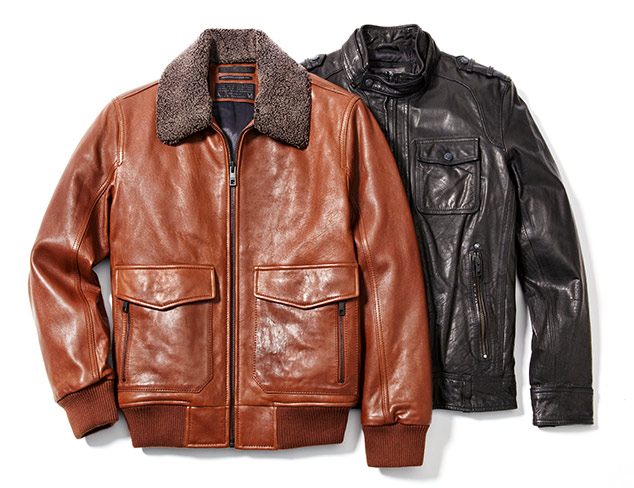 Up to 70% Off: Leather Jackets feat. Vince Camuto at MYHABIT
