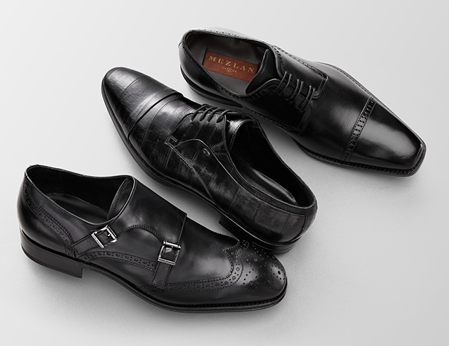 Up to 80% Off: Black Dress Shoes at MYHABIT