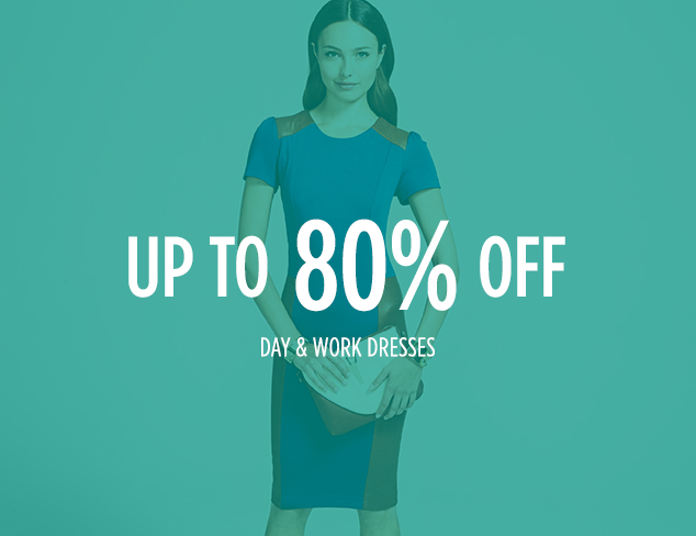 Up to 80% Off: Day & Work Dresses at MYHABIT