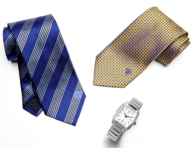 Versace Ties & Watches at MYHABIT