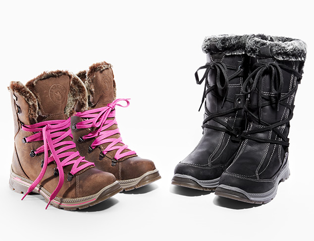 Winter Weather: Boots feat. Santana Canada at MYHABIT
