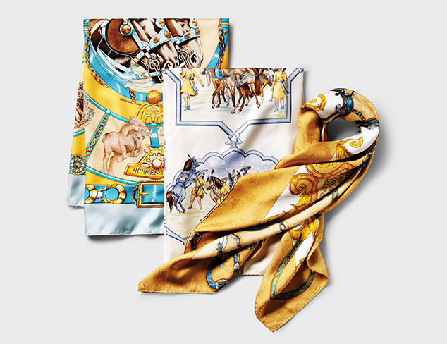 ARCHIVE: Hermès Scarves at MYHABIT