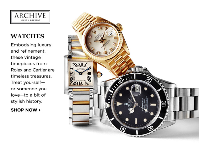 ARCHIVE: Watches for Him & Her at MYHABIT
