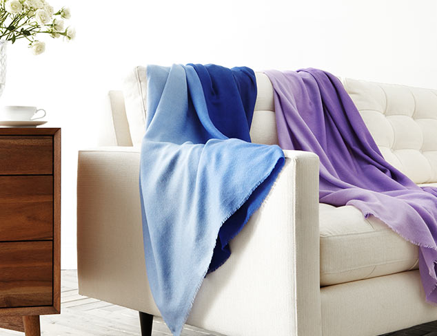 Colorful Throws feat. Suchiras at MYHABIT
