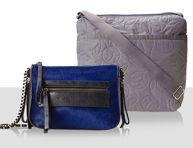 Compact Chic: Cross-Body Bags at MYHABIT