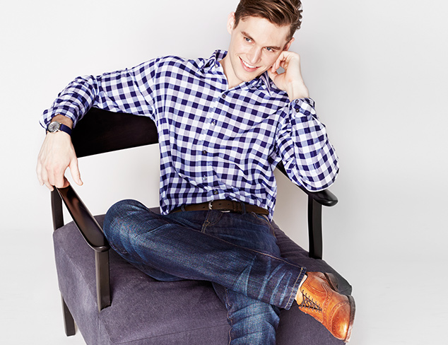Crisp Cuts: Shirting feat. Zachary Prell at MYHABIT