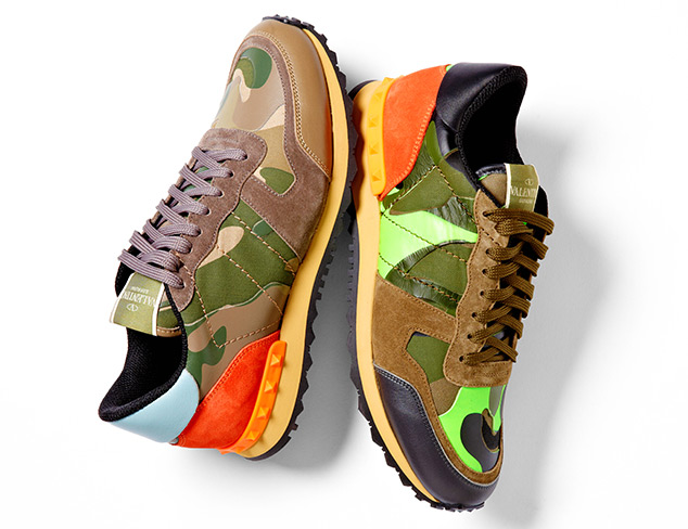 Designer Sneakers feat. D Squared & Valentino at MYHABIT