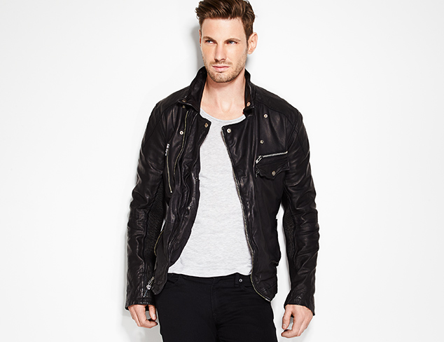Rock Star Style: Denim, Leather & More at MYHABIT