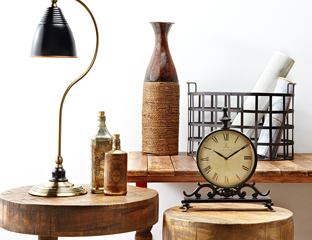 Rustic & Industrial: Furniture & Accents at MYHABIT