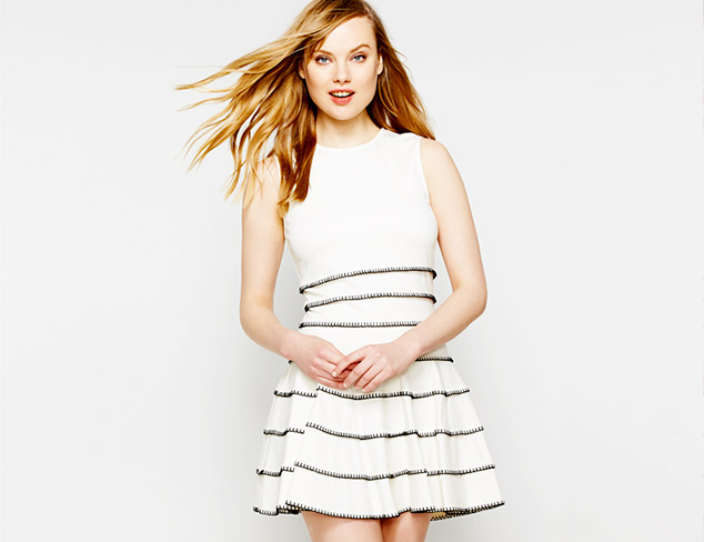 The Little White Dress at MYHABIT