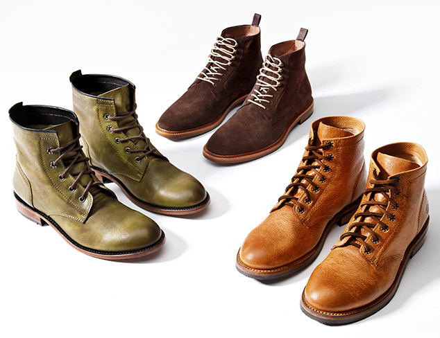 The Modern Man: Lace-Ups, Boots & More at MYHABIT