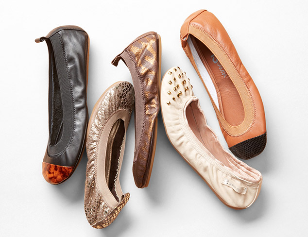 Toss In Your Tote: Foldable Flats at MYHABIT
