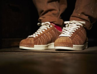 UNION x adidas Consortium Superstar 80v 10th Anniversary