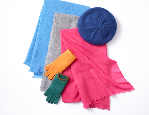 Up to 75% off Cold Weather Accessories from Portolano at MYHABIT